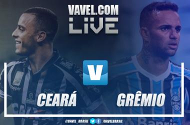 Resultado e gols Ceará x Grêmio pelo Campeonato Brasileiro (2-1)