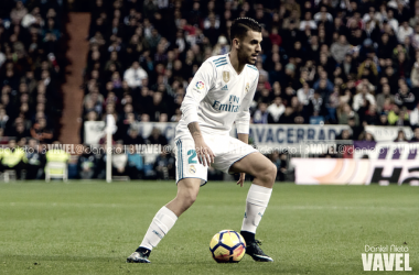 Ceballos jugando con el Real Madrid | Fuente: Daniel Nieto
