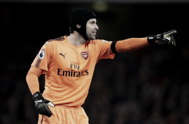 """Cech: """"La eficacia frente a la portería decidió el partido"""""""