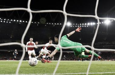 Lingard define para el segundo gol del United | Foto: ManUtd.com