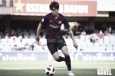 Álex Collado ante elHércules de Alicante Club de Fútbol | Foto de Noelia Déniz, VAVEL<br>