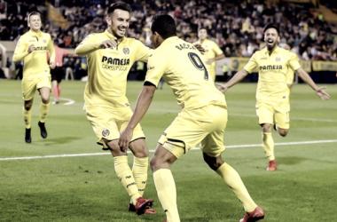 Nicola Sansone fue el gran protagonista en la victoria del Villarreal ante el Málaga. (Fotografía: Villarrealcf.es)