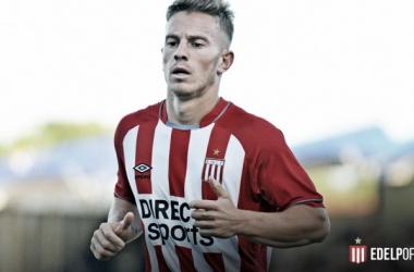 Juan Bautista Cejas contra Atlético de Tucumán (Foto: EDLP Oficial).