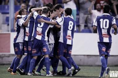 Estadísticas del CD Alcoyano en las 10 primeras jornadas de liga
