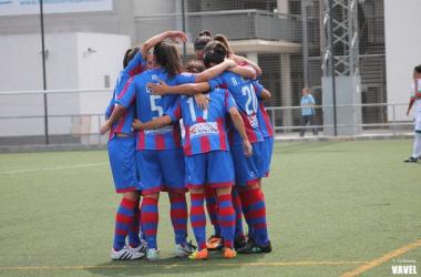 El Levante Femenino arrasa en Nazaret