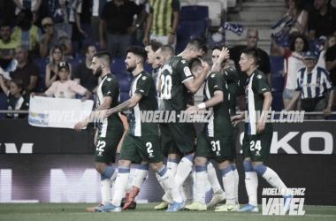 Wu Lei avanzó al Espanyol en el minuto 3 | Foto: Noelia Déniz