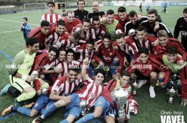 Fotos e imágenes de la final de la Copa Federación, Sporting B 3-1 Real Avilés