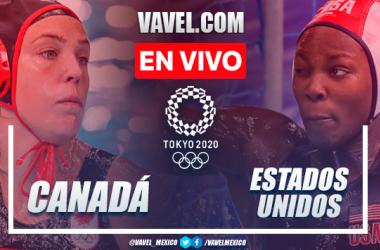 Resumen y goles: Canadá 5-16 Estados Unidos en Cuartos de Final Waterpolo Femenil por Juegos Olímpicos 2020