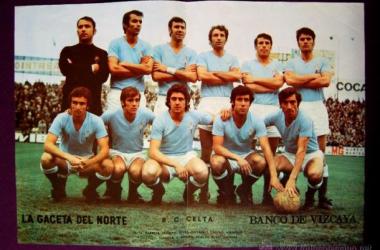 Un once de la temporada 1972-73 (Foto: todocoleccion.net)