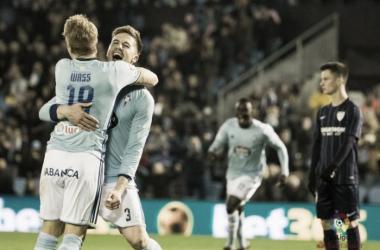 Em partida com chances para os dois lados, Celta vence Málaga em casa