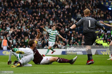 The two sides meet for the first time since last season's Scottish Cup final. Photo by Mark Runnacles/GettyImages.