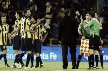 Casi los tres puntos se quedan en Rosario
