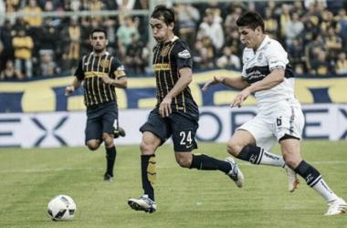 Protti en su debut como titular (sitio oficial)