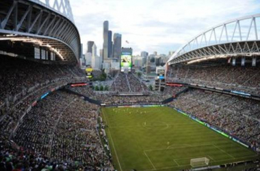 The Seattle Sounders draw the highest average attendance in MLS with 40,521