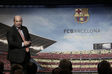 Oscar Grau presenta el nuevo organigrama del club