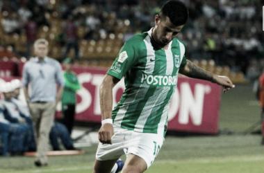 Pablo Cepellini fue una de las figuras del verde en la noche copera Foto: Diario Deportivo