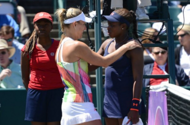 Kerber retires from the match sending Stephens into the final | Photo: Christopher Levy