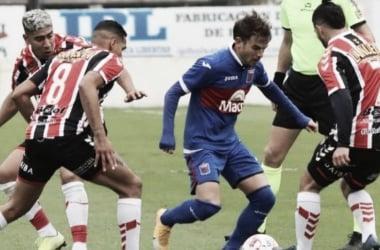 Menossi estará listo para jugar ante Chacarita. Duelo clave por el Reducido (Foto: TyC Sports).