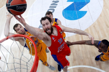 Turkish Airlines EuroLeague - Rodriguez ed Higgins fanno grande il Cska: 2-0 ad uno stoico Khimki