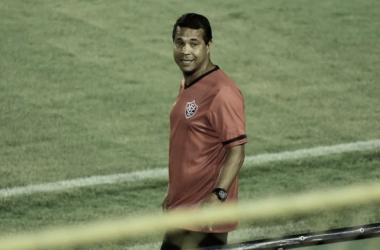 Rodrigo Chagas em Vitória 1 a 0 Botafogo-SP (EC Vitória / Divulgação)