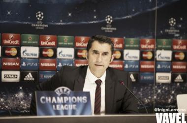 """Ernesto Valverde: """"Tenemos que apurar nuestras opciones"""""""