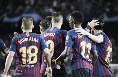 El Barcelona ya está clasificado como primero de grupo | Foto: Noelia Déniz (VAVEL.com)