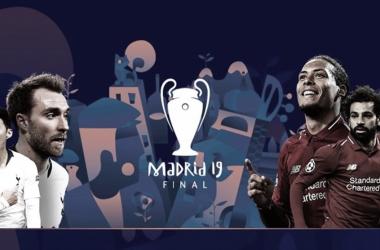 Em duelo de gigantes, Liverpool e Tottenham decidem final da Champions League