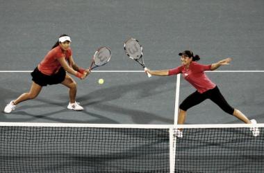 Chan - Niculescu se instalan en semifinales de dobles en Wimbledon
