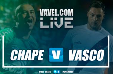 Resultado Chapecoense x Vasco da Gama no Campeonato Brasileiro 2018 (1-1)
