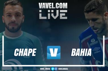 Resultado Chapecoense 1 x 1 Bahia pelo Campeonato Brasileiro 2018