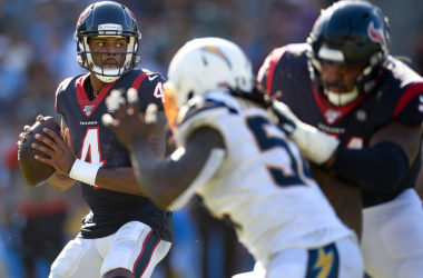Texans consiguió un triunfo clave en Los Angeles y lidera su división