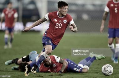 Charles Aránguiz: El jugador del partido de Chile y Uruguay