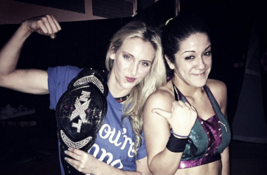 Bayley gives her thoughts on the current Women's Champion (image: dailywrestlingnews.com)