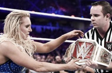 The ultimate goal, becoming WWE Women's Champion. Photo: WWE.com