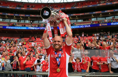 Jonny Williams is back at Charlton, but many of their play-off winners have moved elsewhere.Photo by Leila Coker/MI News/NurPhoto via Getty Images.