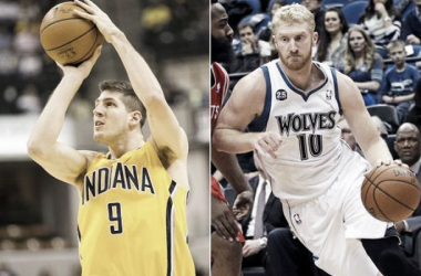Pacers y Timberwolves cambian cartas