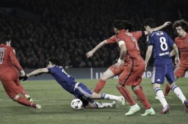El Chelsea de Cuadrado quedó eliminado en la Champions League. Foto: @ChelseaFC