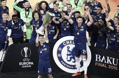 O Chelsea conquistou a sua segunda Europa League (Foto: Divulgação/Europa League)