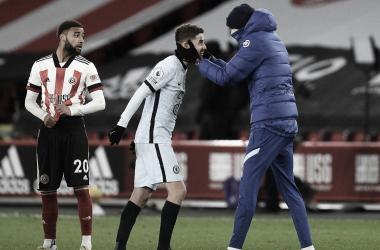 """Jorginho marca, Chelsea entra no G-5 e Tuchel elogia Werner: """"Concentrado e decisivo"""""""