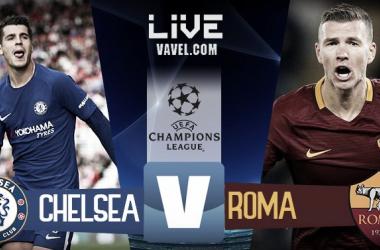 Chelsea-Roma live | Fotomontaggio Vavel Italia, Andrea Mauri