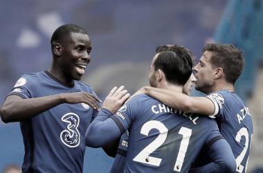 El Chelsea golea al Palace en su primera victoria en Stamford Bridge