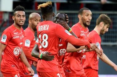 Ligue 2 : Valenciennes s'offre le leader// Photo : twitter officiel du VAFC //