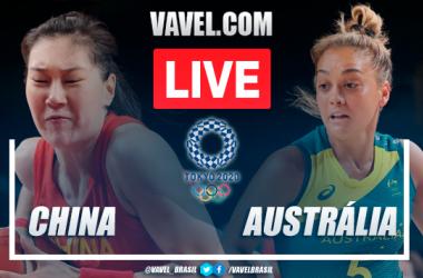Pontos e melhores momentos China 76x74 Austrália pelas Olimpíadas de Tóquio