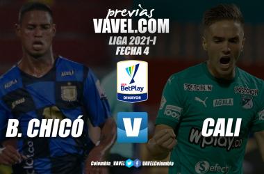 Previa Boyacá Chicó vs. Deportivo Cali: realidades diferentes en la tabla de clasificación