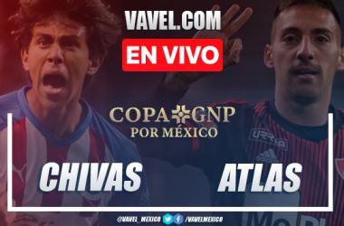 Goles y Resumen: Chivas 2-0 Atlas en Copa GNP por México 2020