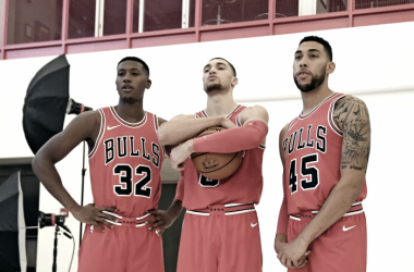 This past offseason was finally time for the Chicago Bulls to enter full-rebuild mode. Photo: Patrick Gorski-USA TODAY Sports
