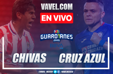 Goles y Resumen: Chivas 0-2 Cruz Azul en Liga MX 2020