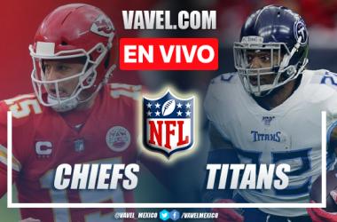 Resumen y anotaciones del Chiefs 3-27 Titans en NFL 2021