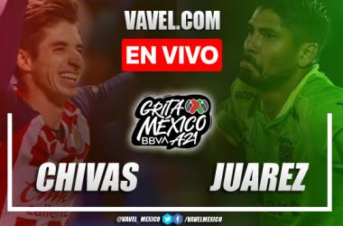 Resumen y goles del Chivas 2-2 Juárez en Liga MX 2021