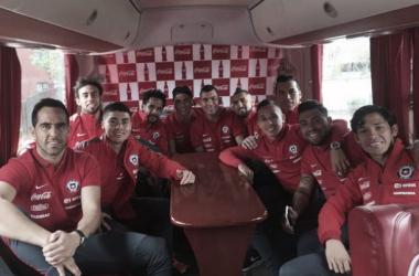 La Selección Chilena dejó Santiago durante el mediodía. (FOTO: elgraficochile.cl)